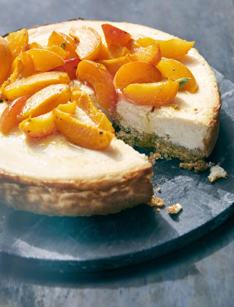 Labneh cheesecake recipe