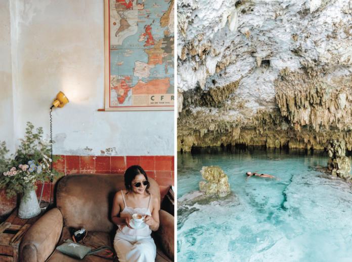Barcelona and Tulum, Mexico (Aubrey Daquinag/PA)