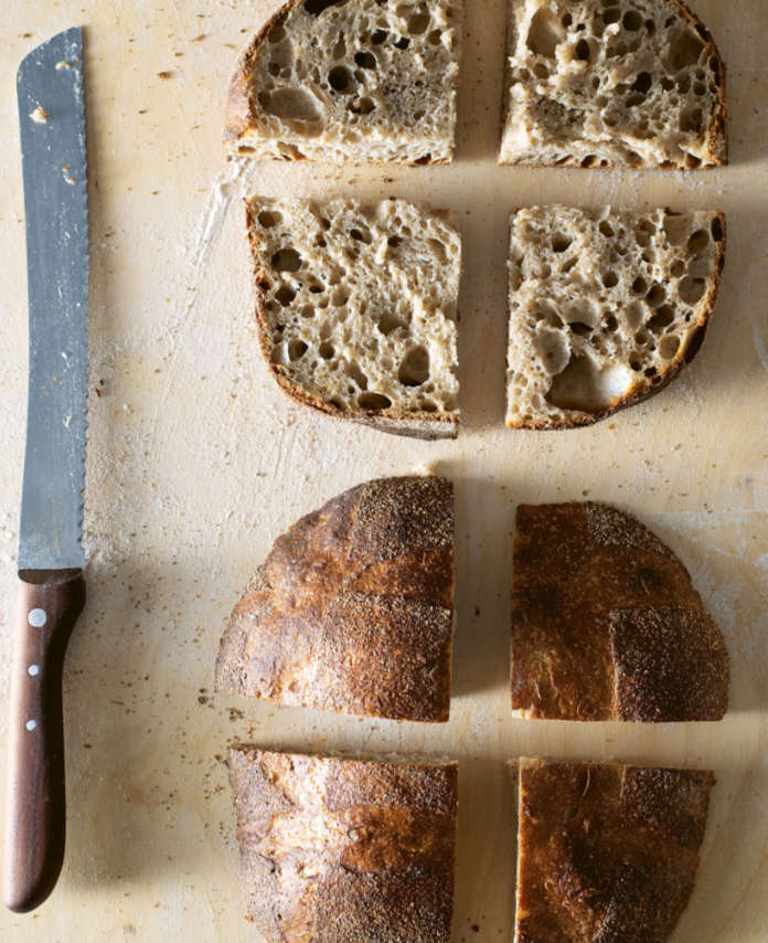 Pave rustique from Super Sourdough by James Morton (Andy Sewell/PA)