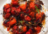 Hot charred cherry tomatoes (Jonathan Lovekin/PA)