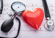 Cardiogram Of Heart Beat And Medical Equipment