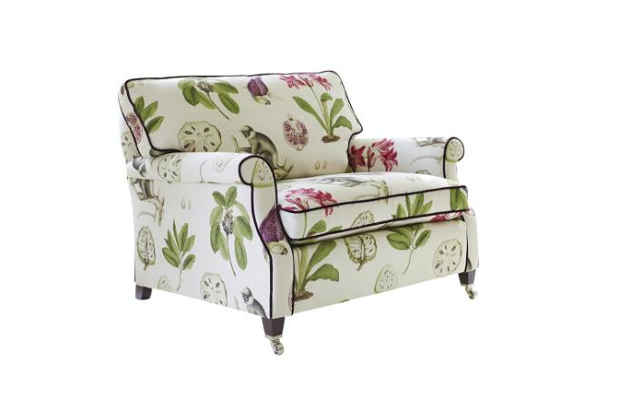Floral armchair from Darlings of Chelsea
