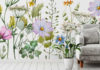 Florals - Delicate Floral Meadow Wallpaper, from £29 per square metre, Wallsauce (Wallsauce/PA)
