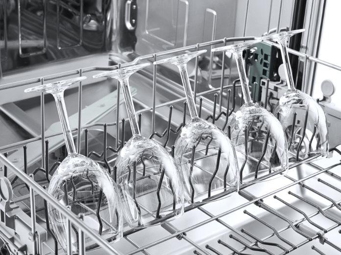 Clean Glassware in dishwasher