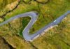 UK self-drive holidays – Road winding in Connemara region in Ireland.
