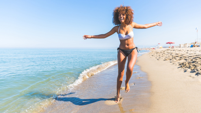 Protection from sun damage is important for people with dark skin too