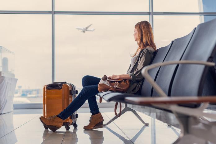 Woman at airport (Thinkstock/PA)