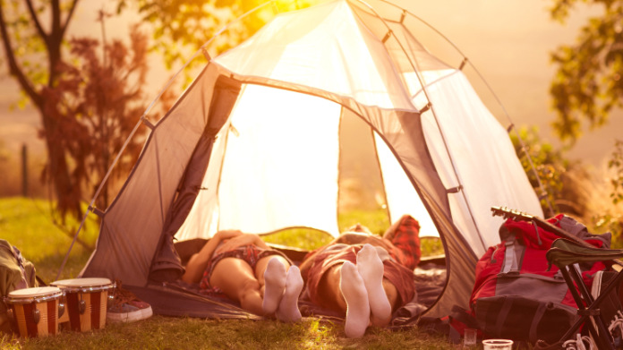 Generic photo of a couple lying in a tent (ThinkStock/PA)