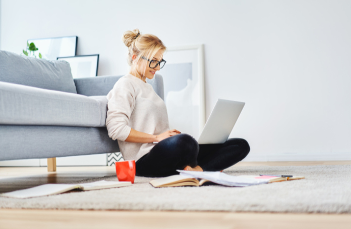 Home working can wreak havoc on your spine (iStock/PA)