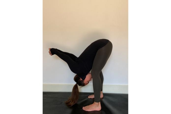 Yoga poses forward fold