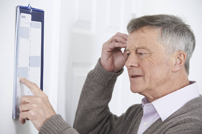 Short-term memory loss can be a sign of Alzheimer's