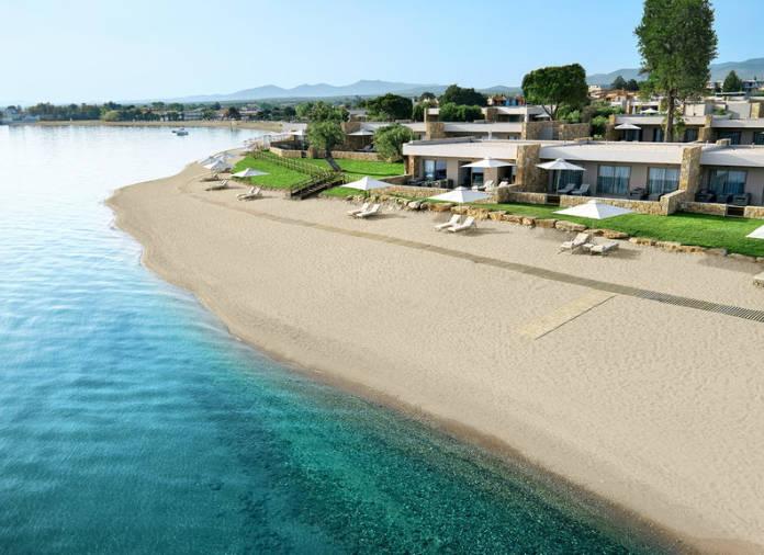 The new Ikos Olivia in Halkidiki, Greece opens in July (Ikos/PA)