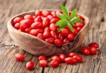 Health benefits of fresh goji berries