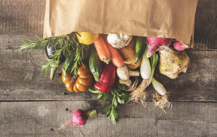 Healthy eating rules lots of vegetables