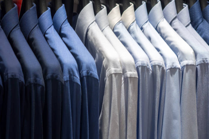 How to create a walk-in wardrobe - shirts