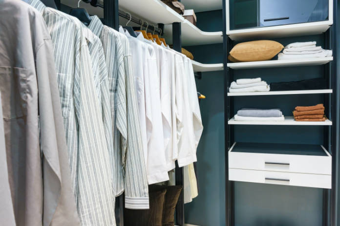 How to create a walk-in wardrobe for small spaces