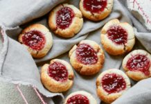 Jammy Thumbprint Cookies