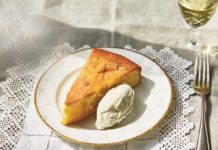 Russell Norman's olive oil cake (Jenny Zarins/PA)