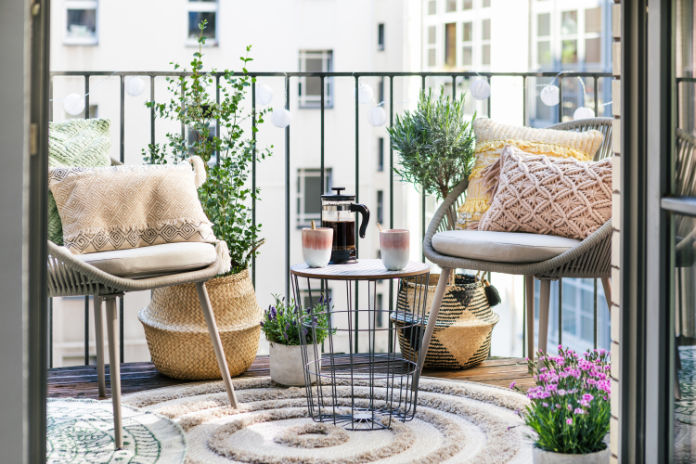 Decorate outdoor space from Wayfair