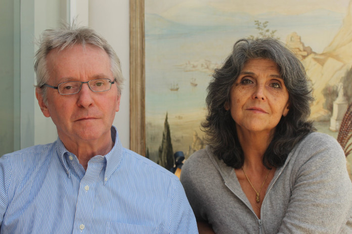 Udo Kischka and wife Helen Kennerley