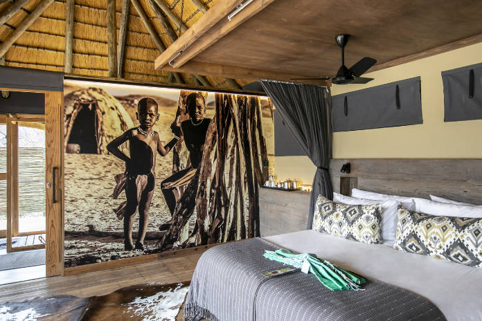 The Serra Cafema camp in Namibia