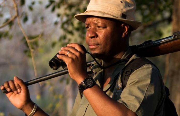 Beks Ndlovu, safari guide and founder of African Bush Camps