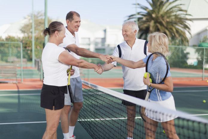 Health benefits tennis