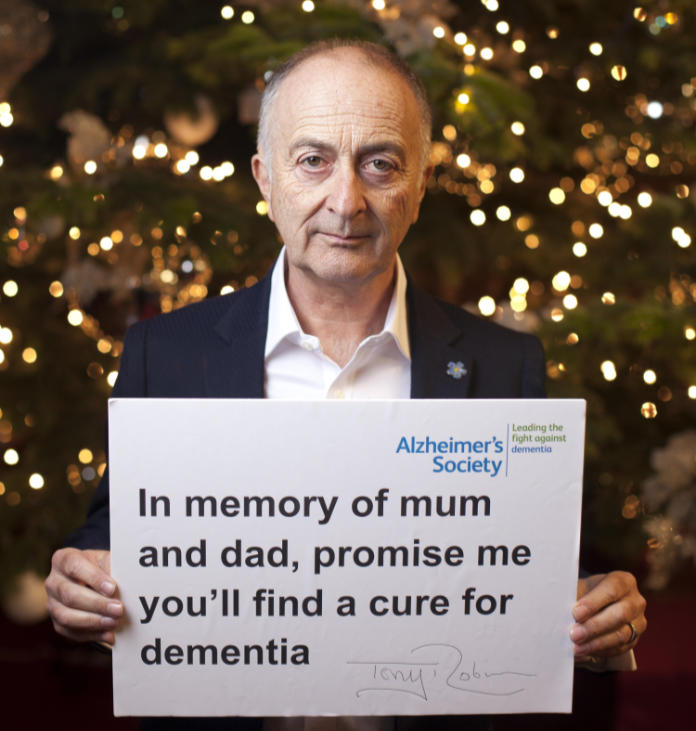 Tony Robinson dementia interview - Alzheimers