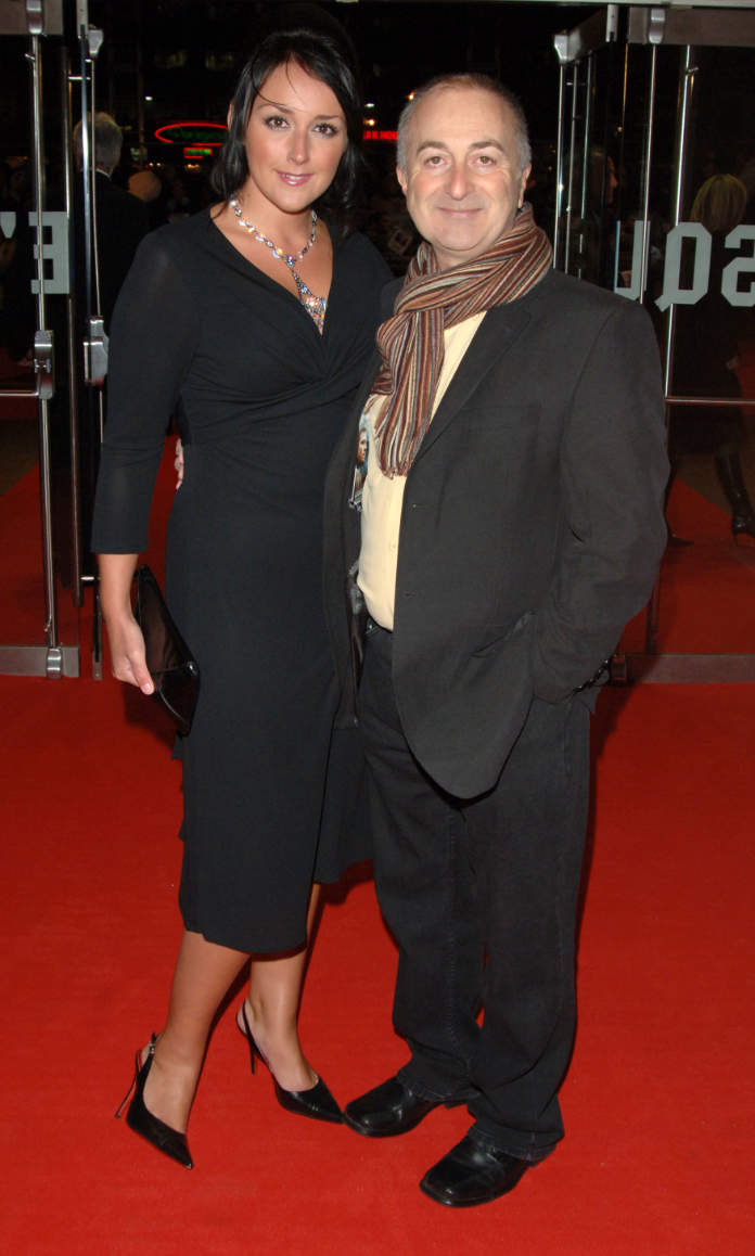 Tony Robinson and Louise Hobbs arrive for the European premiere of Blood Diamond at the Odeon Leicester Square in central London.