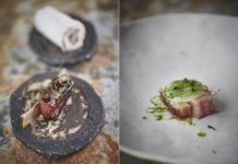 Lamb rib and lamb loin by Gareth Ward (Fjona Black/PA)