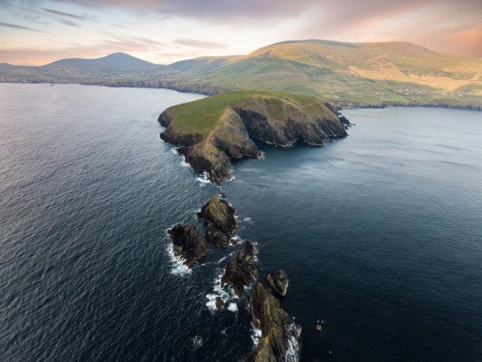 Dunmore Head on the Dingle Peninsula, Co Kerry