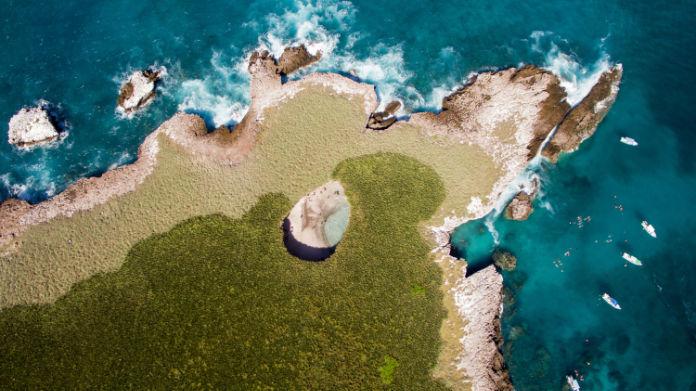 The Hidden Beach on the Marietas Islands