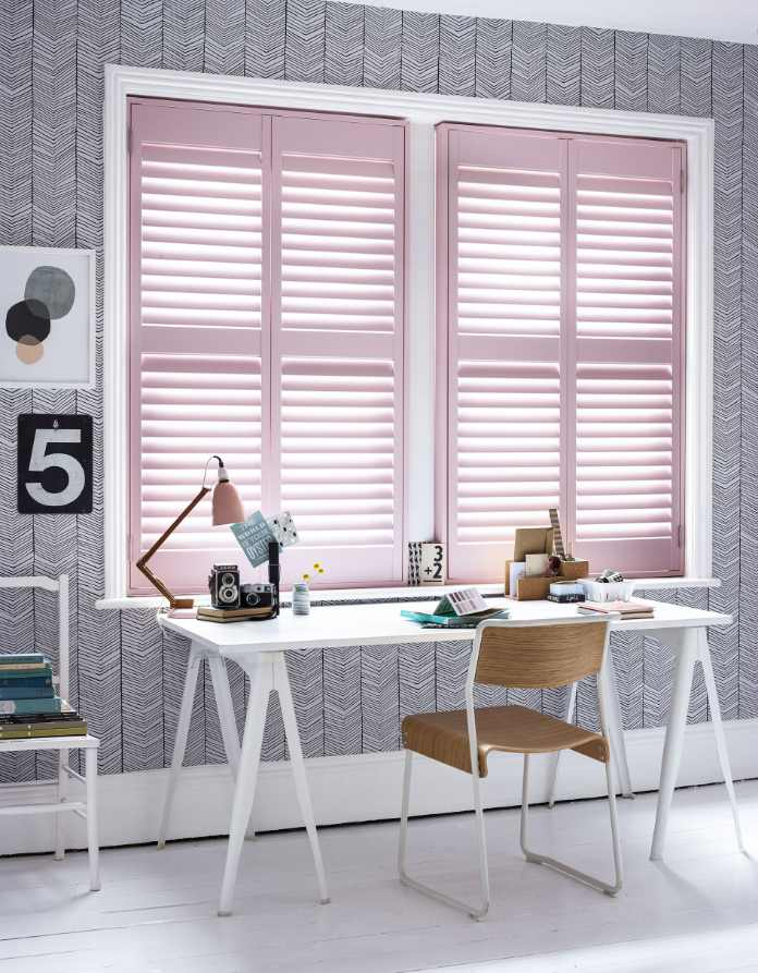 Get off to a great working start with some eye-candy window dressing (California Shutters/PA)