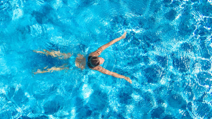 Swimming is particularly good for those with joint pain