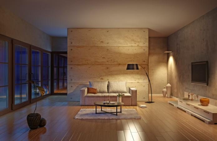 Try vertical lighting for an avant-garde option