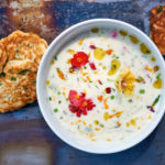 Crab and corn soup with fritters (Peter Cassidy/PA)