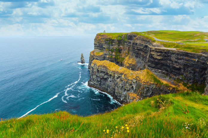 Cliffs of Moher – famous location in County Clare in Ireland