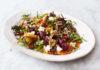 Dressed beet salad