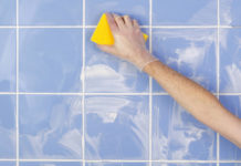 How to clean and regrout bathroom tiles - Main image