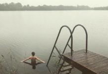 Lake swimming at Finn Lough (Sarah Marshall/PA)