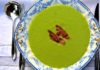 Pea and bacon soup (Mark Adderley/PA)