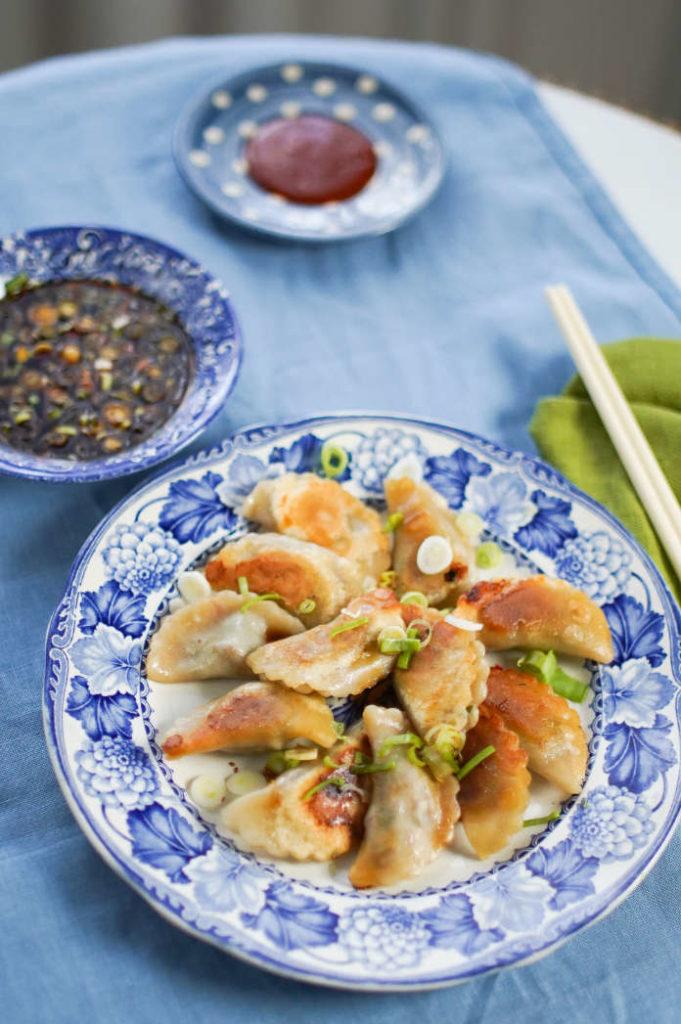 Tasty Parcels - Pan fried dumplings.