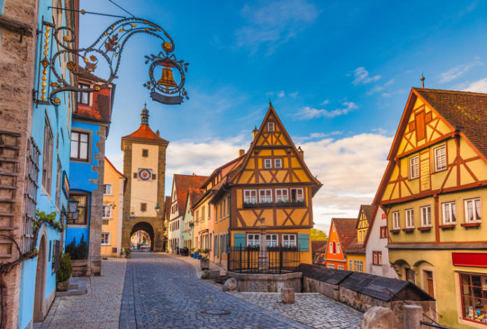 The Romantic road germany