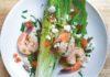 Shrimp wedge salad