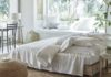 Santorini Bed Linen Collection, The White Company (The White Company/PA)