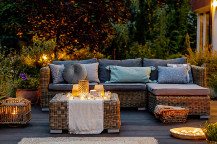 Tropical garden Use soft lighting to extend the evening (iStock/PA)