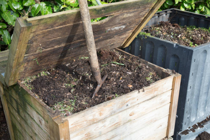 Cut flowers compost