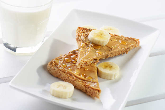 What to eat after a workout peanut butter on toast