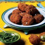 Chetna Makan's fish chop (Nahima Rothacker & Keith James/PA)