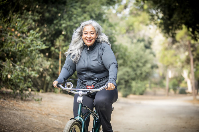 Fitness habits Take up cycling
